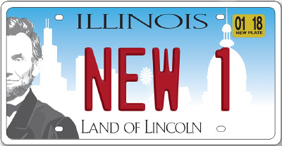 Illinois License Plate Design