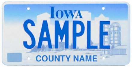 Iowa License Plate Lookup - check any IA Plate Number