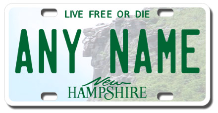 New Hampshire Vehicle License Plate Search | NH Plate ...