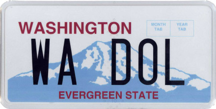 Washington License Plate Lookup | WA Plate Number Check