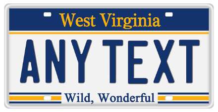 Arizona State License Plate >> West Virginia License Plate Lookup | WV Plate Number Check