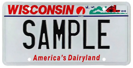 Wisconsin License Plate Design