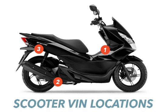 Scooter and Moped VIN Check | Lookup and Search